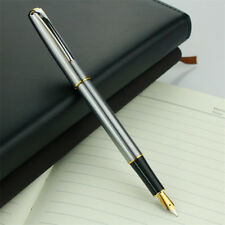 1Pcs Hero 704 Classic Metal Steel China Fountain Pen Fine Nib 0.5mm Writing Gift
