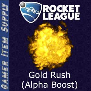 Alpha Boost (Gold Rush) [Rocket League] [PS/PC/Xbox]