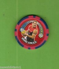 #T53. 2009 AFL CHIPZ TAZO, BRAD GREEN, MELBOURNE DEMONS