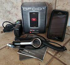 Motorola Droid 4 - 16GB - XT894 Black (Verizon) Smartphone W/Case + 2 x Chargers