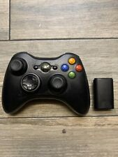 ORIGINAL MICROSOFT XBOX 360 WIRELESS CONTROLLER BLACK OEM AA BATTERY PACK