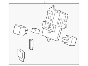 Genuine GM Body Control Module 25910845