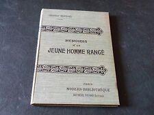 MEMOIRE D'UN JEUNE HOMME RANGE - TRISTAN BERNARD -  MODERN BIBLIOTHEQUE