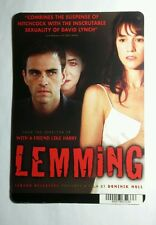 Lemming Charlotte Ramping Gainsbourg Art Mini Poster Backer Card (Not a movie )