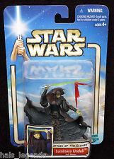Star Wars Ataque De Los Clones. Luminara Unduli Jedi Maestro. rara! nuevo!