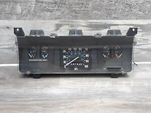 Jeep Grand Wagoneer 85-91 Speedometer Instrument Gauge Cluster 86-91 J10 FSJ AMC