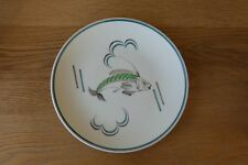 1950's Poole Pottery Fish Plate Hand Made & Decorated ##B