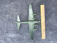Maquette de bombardier américain en métal , MEMPHIS jouet ancien avion militaire