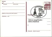 Ganzsachen Postkarte Schiff Sonderstempel LEMWERDER Stapellauf Fregatte KULMBACH