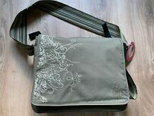 Lässig Wickeltasche / Messenger Bag Vertical Olive neuwertig