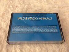 "THE LITTLE WONDER BUS ""Wild & Wacky Animals"" CASSETTE 1991 Jane Norman GOOD"