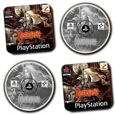 Castlevania Symphony Of The Night PS1 Game - Coasters - Set of 4 - Wood - Gifts