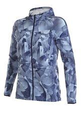 Para mujer Nike Dri-Fit Essential Print Top Running Jacket-Talla Mediana M Azul