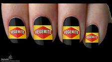 Vegemite Australia Aussie Nail Art Sticker Water Transfer Decal Tattoo 78
