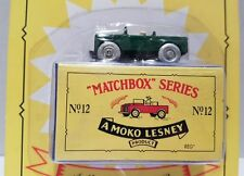 LAND ROVER ~ LIMITED EDITION ~ Matchbox Recreation Originals No. 12 ON WORN CARD