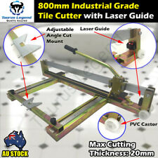 Heavy Duty 800mm Laser Manual Tile Cutter Steel Constructed Tile Cutting Machine