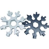 18-in-1 Multi Werkzeug Karte Kombination kompakte Snowflake brechen Fenster