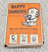 More details for john jaques happy families antique card game c1910 unusual half pack