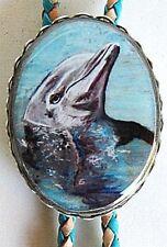 Classic Dolphin Bolo Tie