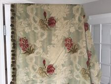 "Exquisite Custom Crushed Velvet Drapes Curtain 50"" x 96"" French Decor Lined"