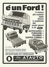 W0513 Ford - Concessionaria Atauto - Pubblicità 1967 - Advertising