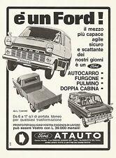 W0513 Ford - Concessionaria Atauto - Pubblicità 1967 - Advertising