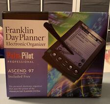Vintage Palm Iii Pilot 3com Franklin Planner Connected Organizer Ascend 97 Box