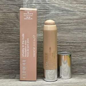 Clinique Chubby In The Nude Foundation Stick 06 Intense Ivory CN 28 FULL SIZE