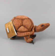 "Hansa Wood Turtle Stuffed Plush 9"" Inches 3840 New with Tags"