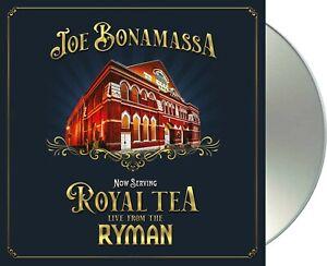 "Joe Bonamassa ""now serving: royal tea live from the ryman"" CD NEU Album 2021"