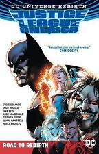 Justice League of America: the Road to Rebirth (Rebirth) by Steve Orlando.