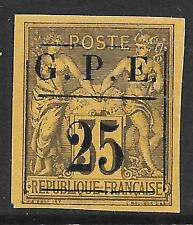 Guadeloupe stamps 1884 YV 2  UNG  VF