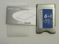 Pcmcia Pc 6 in 1 card adapter