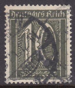 Germany Deutsches Reich 1921 Number Definitive, Mi. Nr. 159b USED Gepr. INFLA