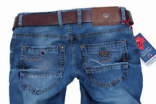 Brand New Exclusive  d.g:Men's   Classic, Straight Jeans+Gift Belt Size 30