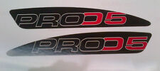 GasGas TXT Pro 2005 Swinging Arm Decals, High Tack, Extra Thick Moto-X Quality