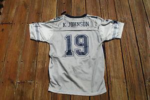 Dallas Cowboys Youth Large Keyshawn Johnson  jersey fits size 18/20 by Reebok