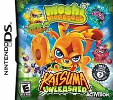 Moshi Monsters Katsuma Unleashed Nintendo DS >Brand New - In Stock - Fast Ship<