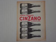 advertising Pubblicità 1956 CINZANO