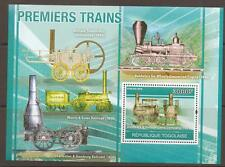 TOGO 2010 EARLY TRAINS M/SHEET MNH