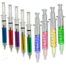 5 Syringe Pens  + 4 Syringe Highlighters