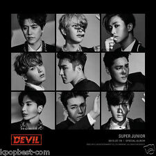 SUPER JUNIOR - Devil (Special Album) CD + Photobooklet + Photocard + gift photo