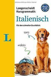 Langenscheidt Kurzgrammatik Italienisch - Buch mit ...   Buch   Zustand sehr gut