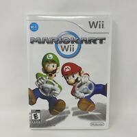 (NO GAME!) Mario Kart Wii (Nintendo Wii, 2008) CASE ONLY ~ No Disc Or Manual