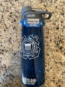 NEW CAMELBAK COAST GUARD Leak Proof liter 750ml Blue Water Bottle