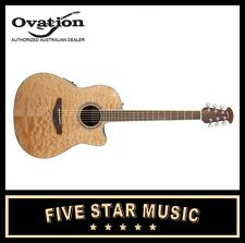 OVATION Celebrity Standard Plus Cutaway Quilt Maple Top NEW CS24P-4Q WITH PICKUP