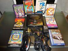 Sega Mega Drive 2 mit Spiele