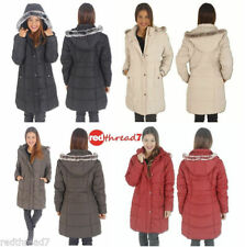 Polyester Puffer Coats & Jackets for Women