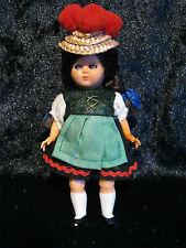 Alte Trachten Puppe Schwarzwald Made in Italy Schlafaugen aus Sammlungsauflösung
