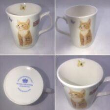 Royal Grafton Cat Kitten Design Mug Cup Fine Porcelain Made In England